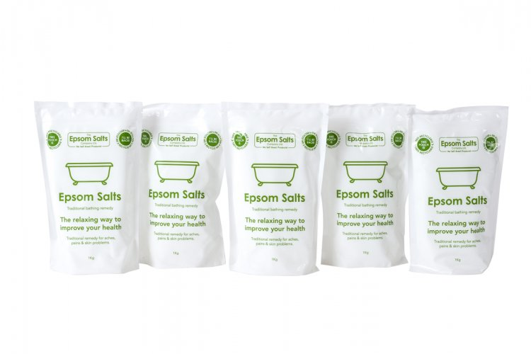 Epsom Salts 5 x 1Kg Packs