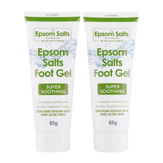 Epsom Salts Foot Gel x 2