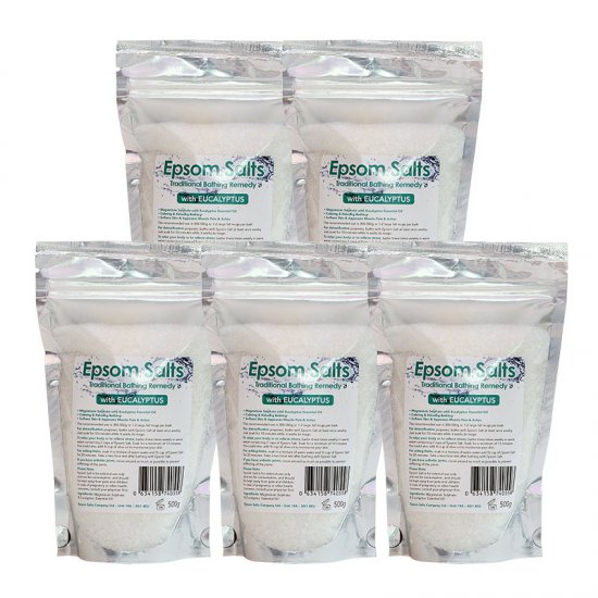 Epsom Salts with Eucalyptus 2.5Kg