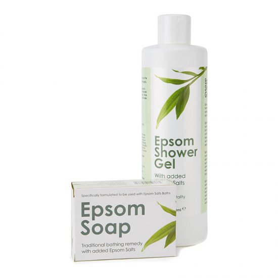 Epsom Shower Gel & Soap