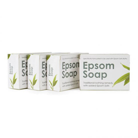 Epsom Soap x 4 Bars