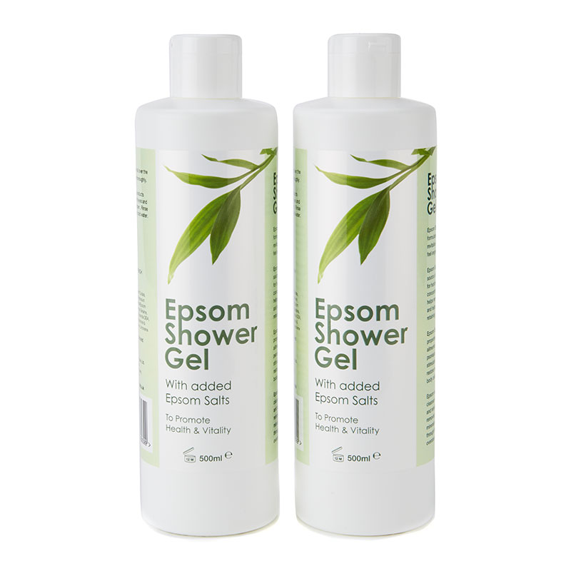 Epsom Shower Gel x 2