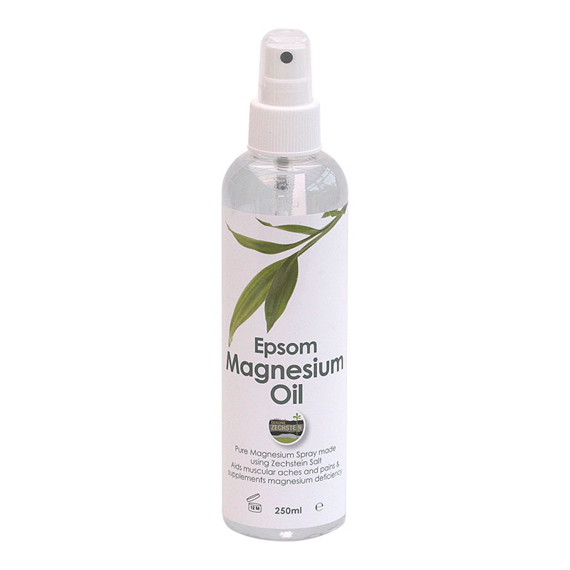 Epsom Magnesium Oil - 250ml