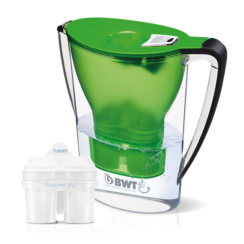 2.7L Mineral Water Jug - Green