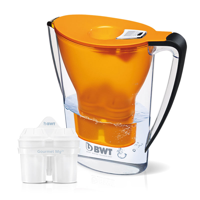2.7L Mineral Water Jug - Orange